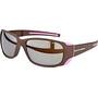Julbo Monterosa Spectron 4 Sonnenbrille Damen aubergine/pink-brown flash silver