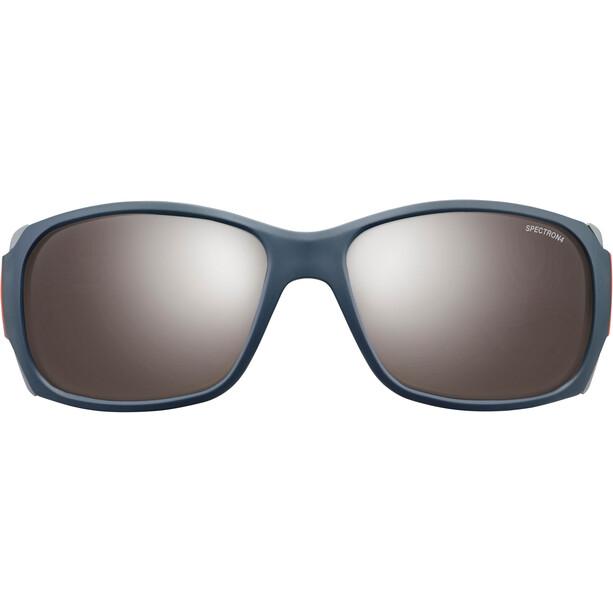 Julbo Monterosa Spectron 4 Sonnenbrille Damen dark blue/gray/coral-brown flash silver