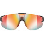 Julbo Aerospeed Segment Light Red Sonnenbrille black/red/red-multilayer red