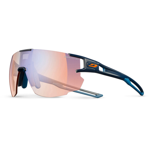 Julbo Aerospeed Segment Light Red Sonnenbrille blau/orange