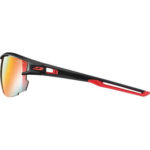 Julbo Aero Zebra Light Red Sonnenbrille black/red-multilayer red