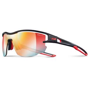 Julbo Aero Zebra Light Red Sonnenbrille schwarz/rot schwarz/rot
