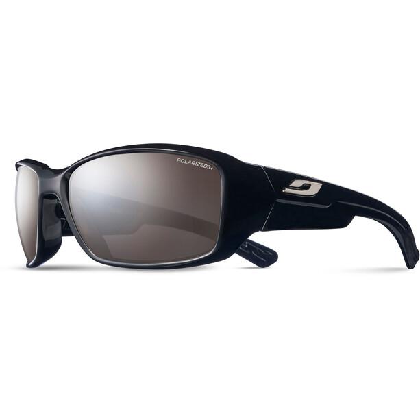 Julbo Whoops Polarized 3 Sonnenbrille shiny black-gray flash silver
