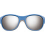 Julbo Luky Spectron 3+ Sonnenbrille 4-6Y Kinder blue/gray-gray flash silver