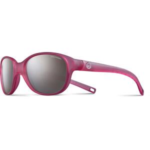 Julbo Romy Spectron 3+ Sonnenbrille 4-8Y Kinder matt translucent pink-gray flash silver matt translucent pink-gray flash silver
