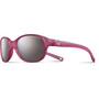 Julbo Romy Spectron 3+ Sonnenbrille 4-8Y Kinder matt translucent pink-gray flash silver