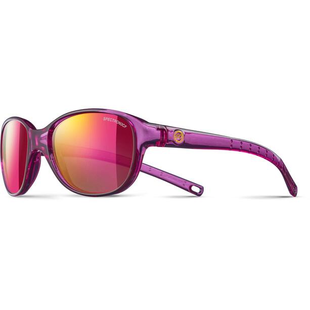 Julbo Romy Spectron 3CF Sonnenbrille 4-8Y Kinder translucent purple-multilayer pink