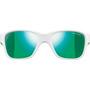 Julbo Turn Spectron 3CF Sonnenbrille 4-8Y Kinder shiny white/fluorescent green-multilayer green
