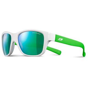 Julbo Turn Spectron 3CF Sonnenbrille 4-8Y Kinder shiny white/fluorescent green-multilayer green shiny white/fluorescent green-multilayer green