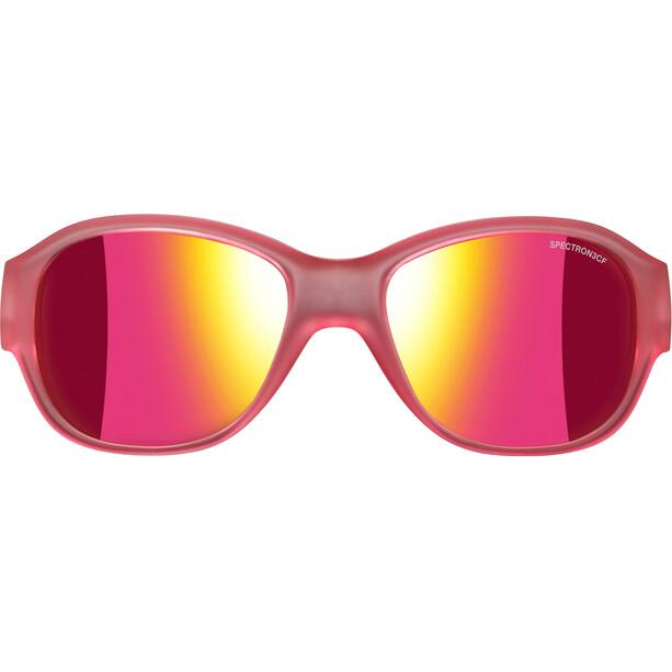 Julbo Lola Spectron 3CF Sonnenbrille 6-10Y Kinder matt translucent pink-multilayer pink