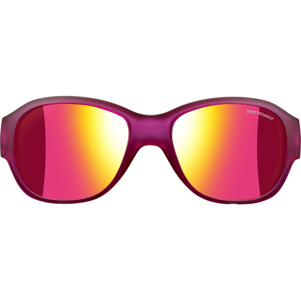 Julbo Lola Spectron 3CF Sonnenbrille 6-10Y Kinder matt translucent purple-multilayer pink