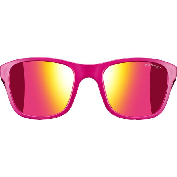 Julbo Reach L Spectron 3CF Sonnenbrille 10-15Y Kinder shiny pink-multilayer pink