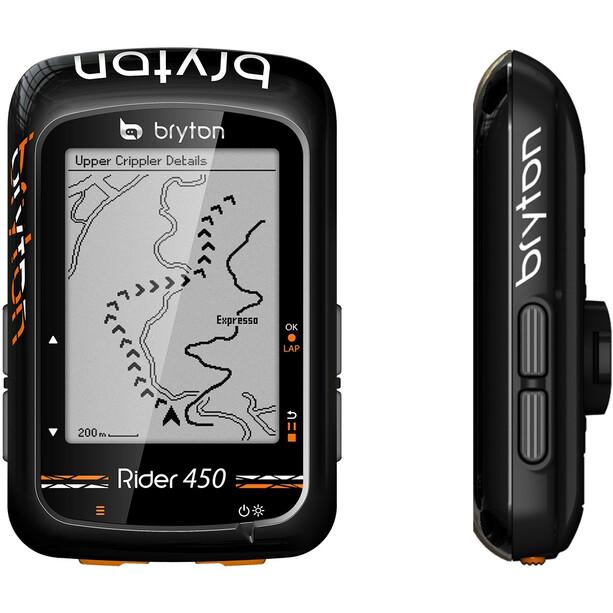 Bryton Rider 450 E Fahrradcomputer schwarz