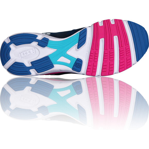 Salming enRoute 2 Schuhe Damen limoges blue/blue atoll