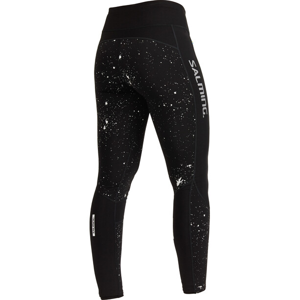Salming Reflective Tights Damen black/silver reflective