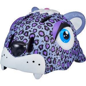 Crazy Safety Leopard Helmet Jenter purple purple