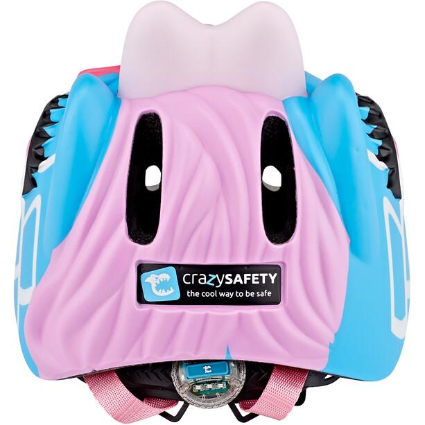 Crazy Safety Giraffe Helm Mädchen blau
