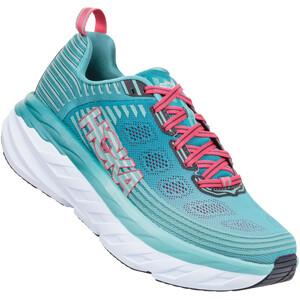 Hoka One One Bondi 6 Shoes Women canton/green-blue slate canton/green-blue slate