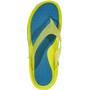 Hoka One One Ora Recovery Flip Sandalen Herren caribbean sea/primrose