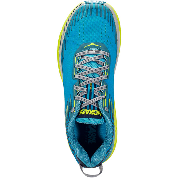 Hoka One One Clifton 5 Laufschuhe Herren carribean sea/storm blue