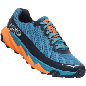 Hoka One One Torrent Chaussures de trail Homme, Bleu pétrole/orange Bleu pétrole/orange