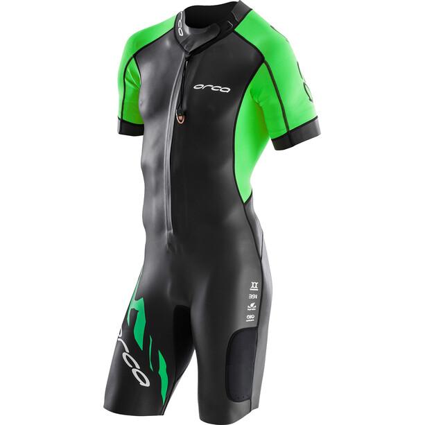 ORCA Core Swimrun Herren black/green