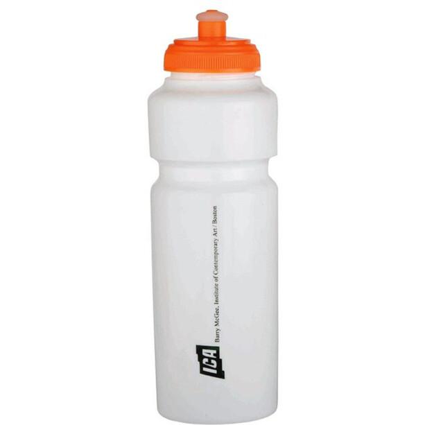 Cinelli Barry Mcgee Drinking Bottle 750ml white/tangerine