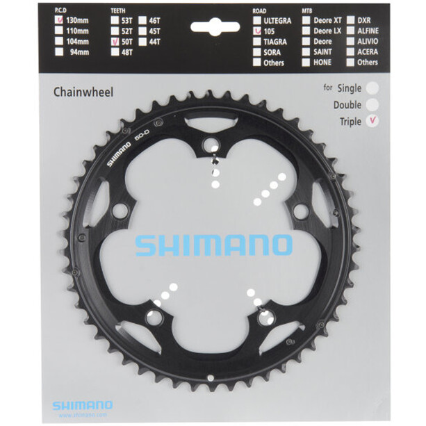 Shimano 105 FC-5703-L Chainring 10-speed black