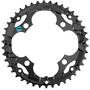 Shimano Alivio FC-M415 Plateau 7/8-speed, noir