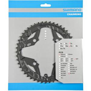 Shimano Alivio FC-M431 Kettenblatt für Kettenschutzring 9-fach schwarz schwarz