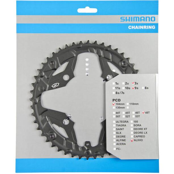 Shimano Alivio FC-M431 Kettenblatt für Kettenschutzring 9-fach schwarz