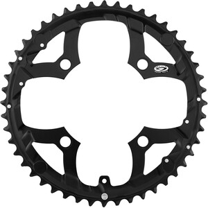 Shimano Deore FC-M530 Kettenblatt 9-fach schwarz schwarz