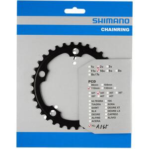 Shimano FC-R565 Kettenblatt 10-fach schwarz schwarz