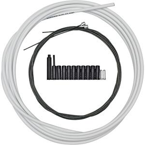 Shimano MTB Optislick Schaltzug Set weiß weiß