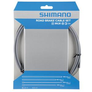Shimano Road SIL-TEC Bremszug-Satz Vorderrad/Hinterrad grau grau