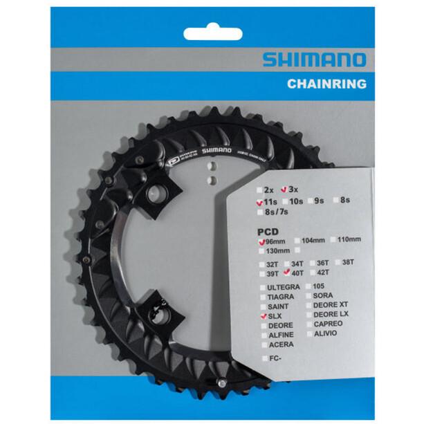 Shimano SLX FC-M7000-10 Kettenblatt 10-fach schwarz