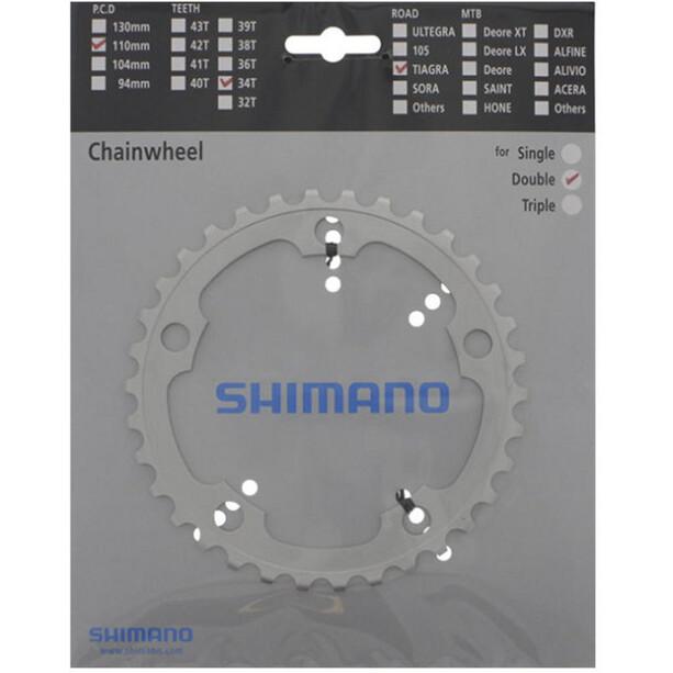 Shimano Tiagra FC-4550 Plateau 9 vitesses, argent