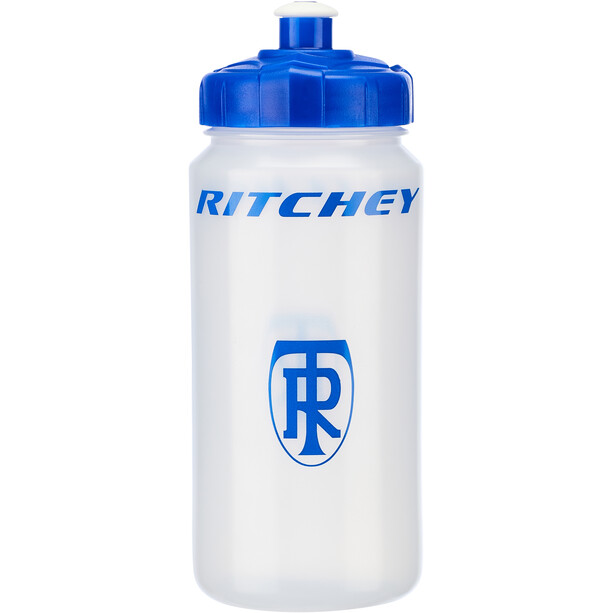 Ritchey Bidon 500ml, transparent/blue
