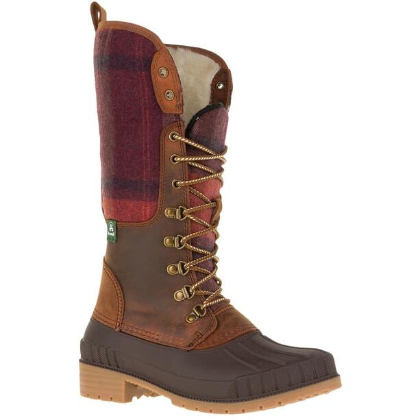 Kamik Siennaf2 Schuhe Damen dark brown