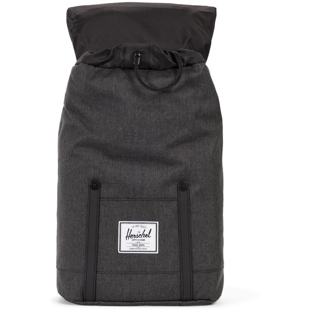 Herschel Retreat Backpack 19,5l black crosshatch/black
