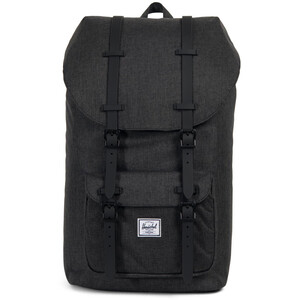 Herschel Little America Rucksack black crosshatch/black black crosshatch/black