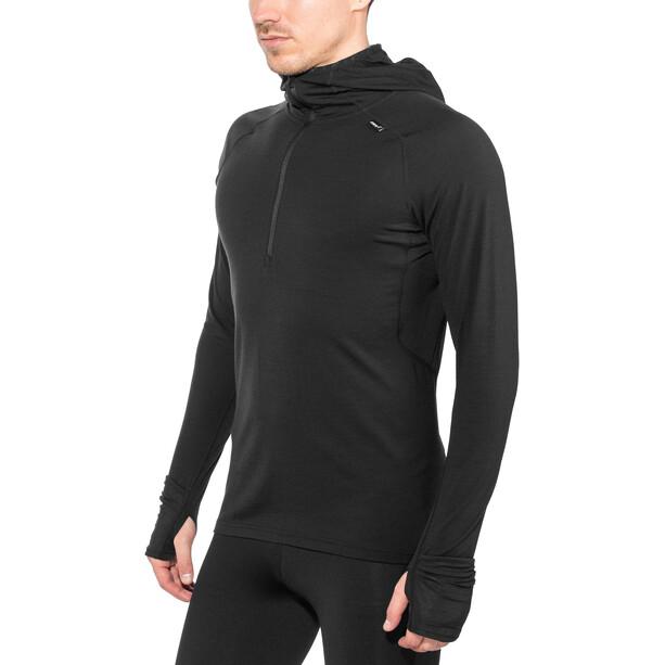 inov-8 Merino LS Zip Langarmshirt Herren black