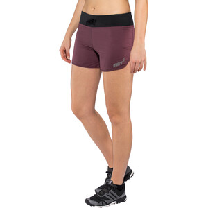 "inov-8 Trail 4"" Shorts Damen purple/ black purple/ black"