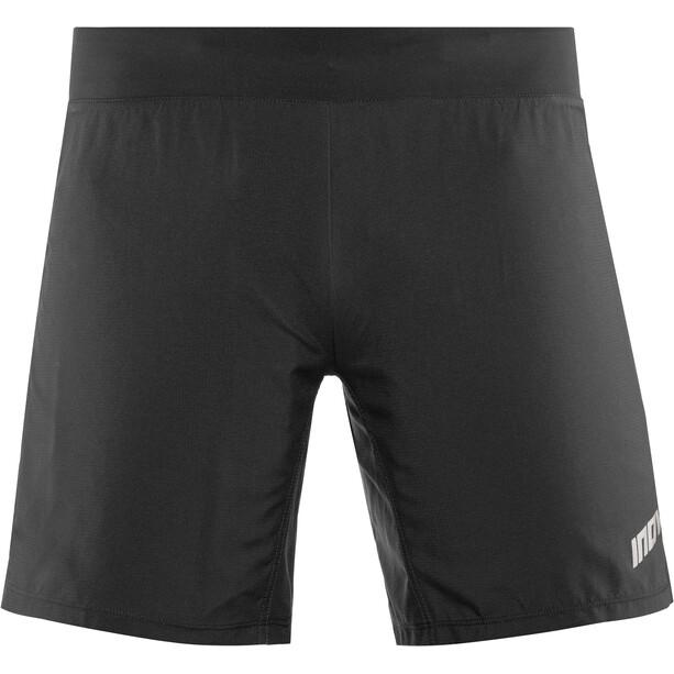 """inov-8 Trail 7"""" Shorts Herren black/red"""