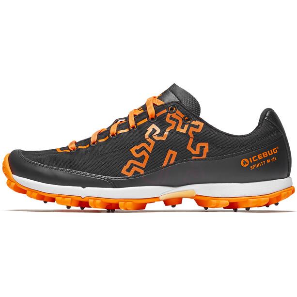 Icebug Spirit7 OLX Shoes Herr black/dkorange