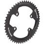 Rotor Aldhu Kettenblatt 110x4 außen oval schwarz/matt/glänzend