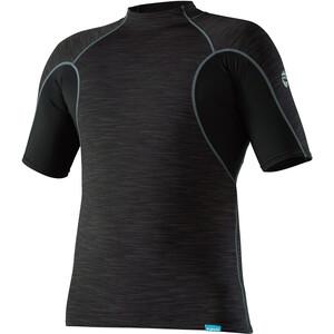 NRS HydroSkin 0.5 Short Sleeve Shirt Herr svart svart