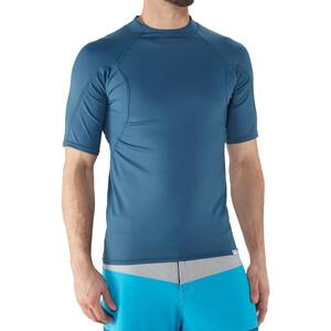 NRS H2Core Rashguard Kurzarmshirt Herren moroccan blue moroccan blue