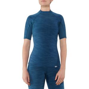 NRS HydroSkin 0.5 Kurzarmshirt Damen moroccan blue moroccan blue