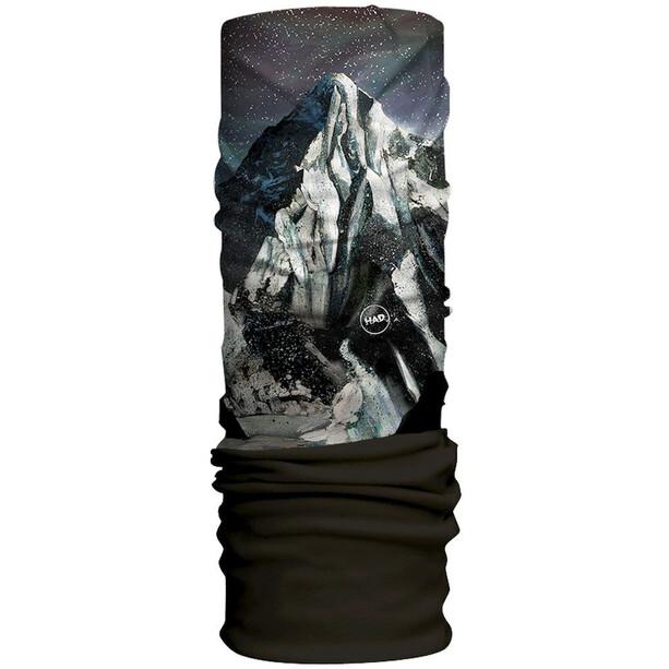 HAD Original Fleece Tube Scarf k2 night - black fleece